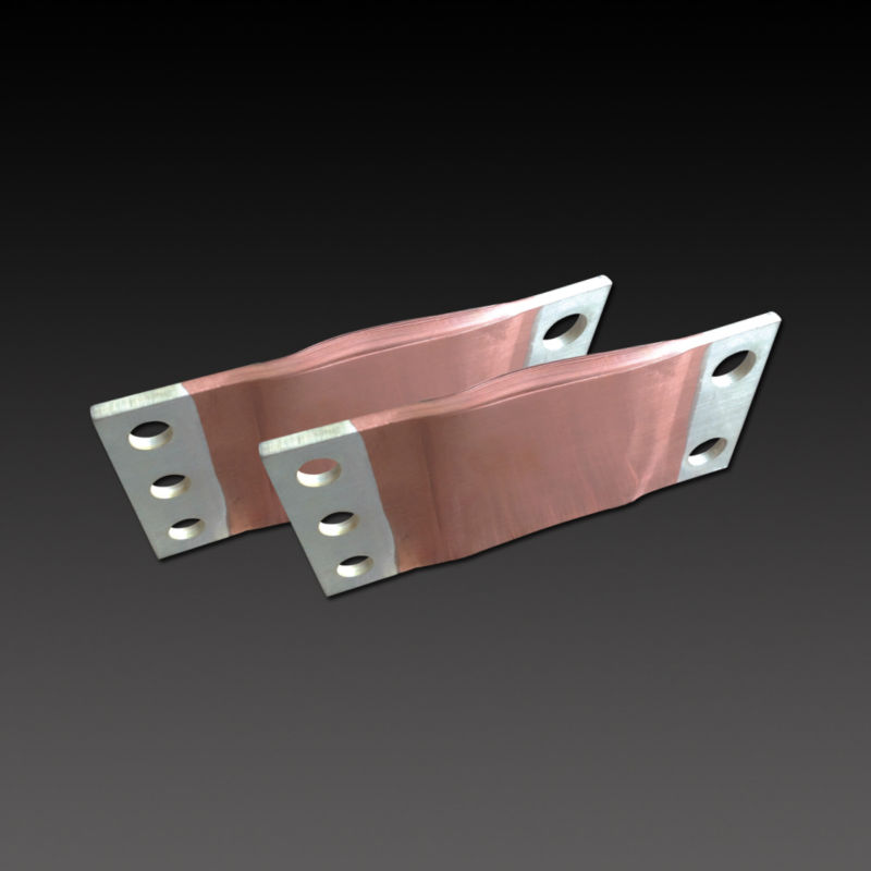 high voltage flexible tinned copper busbar