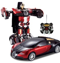 New Product Radio Control 2.4G Car Transform Robot Toy