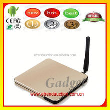 2012 New Version most popular Smart Android 4.2 Internet TV Set Top Box with Full HD 1080P1080p