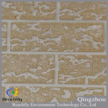 Reachfly fireproof polyurethane foam insulation brick stone surface sandwich panel