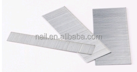 Chinese Competitive price 18Ga fine wire F series brads nails for wooden furnitures