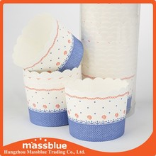 Disposable mousse ice cream use paper cups