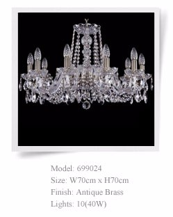 Bohemian Style High end Crystal Chandelier