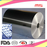 8021 roll type aluminum foil for capsules package foil