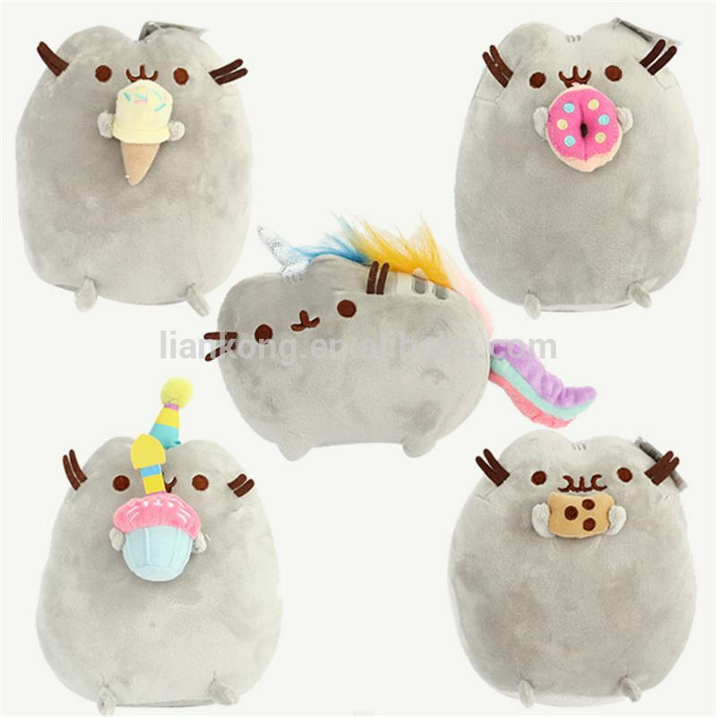 Custom soft plush stuffed pusheen the cat plush toys pusheen doll