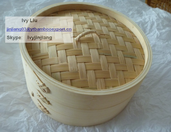 Chinese traditional bamboo super Steamer