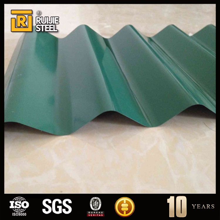 Galvanized Surface Treatment and Container Plate Application heat-insulated zinc corrugated roofing steel sheet