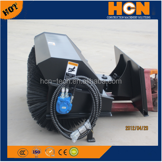 HCN hot sell brand new 0201 hydraulic snow sweeper cleaning machines