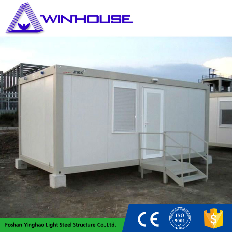 Hot Sale Mobile Living Box One Bedroom Prefab House For Europe