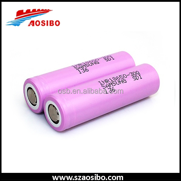 Lithium Ion Rechargeable Batteries 18650 26650 samsung 18650 30q 3000mah first power battery