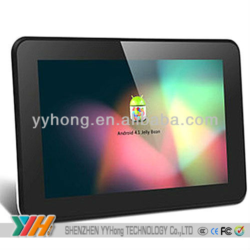 7inch Android 4.0 tablet pc Super Slim Capacitive ARM Cortex-A8 Tablet PC