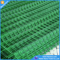 Cheap price galvanized welded wire mesh, 2-4 folds welded wire mesh fence