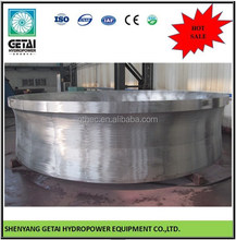 anti-erosion hydro energy pelton water turbine generator made in china from shenyang getai for hydropower contractor