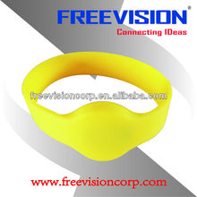 Iso15693 Rfid Wristbands Nfc Wristbands Ntag203 Waterproorf Silicone Rfid Wristband