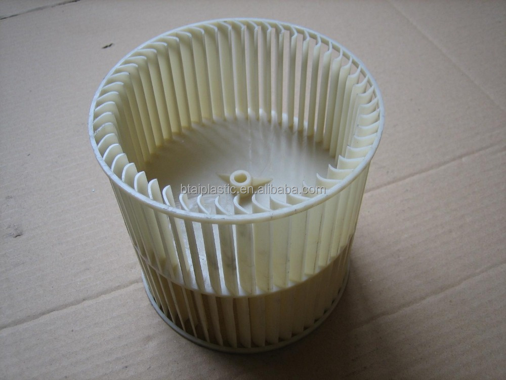 air conditioner fan wheel plastic injection moulding