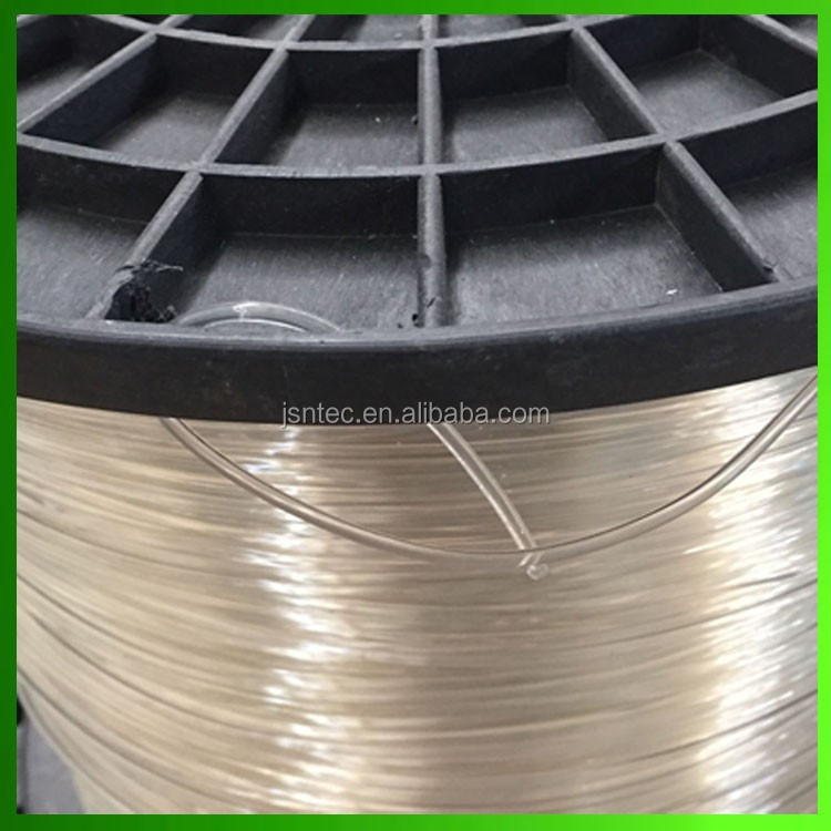 2. 0mm 2.2mm 2.6mm 3.0mm transparent and black color polyester wire for greenhouse