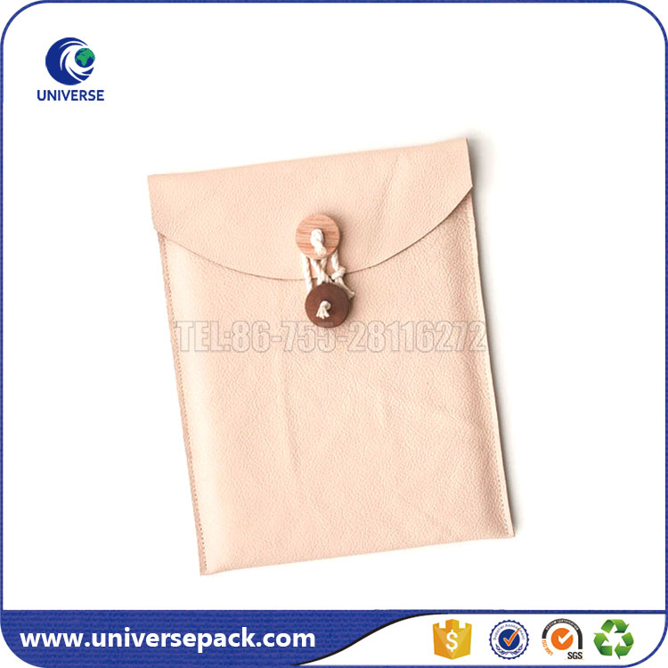 Newest design pu leather pouch for ipad custom