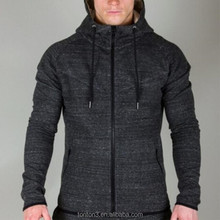 High Quality Cotton Embriodery Logo Full Zipper Oem Slim Fit Sport Fitness Custom Mens gym Hoodie