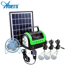 24 Hours working time on gird 10w industrial solar power generator