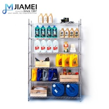 OEM 4 Tier Garage Storage <strong>shelf</strong> 4 Foot Wire Shelving Rack Unit Solutions