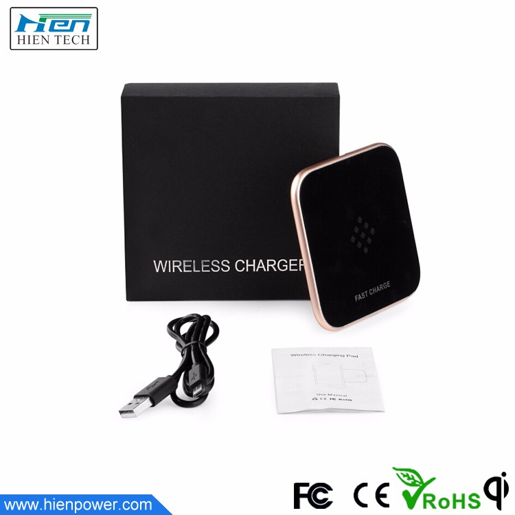 China supplier factory homemade qi wireless mobile phone power charger pad