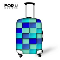 Fresh Colours Suitcase Trolley Luggage Spare Parts As Covers For Suitcases