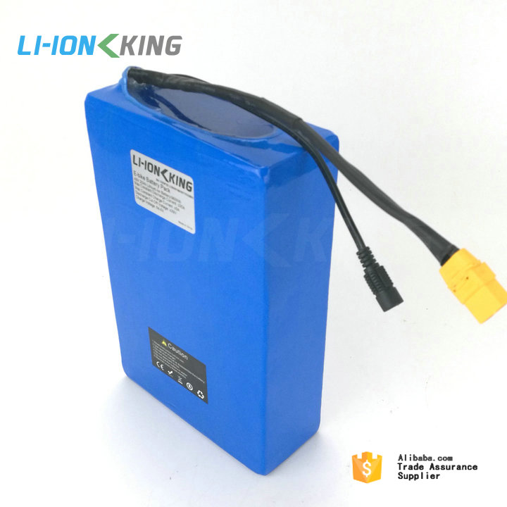 Free Shipping No Tax Duty 30A BMS 1000W lithium electric bike battery 48v 20ah