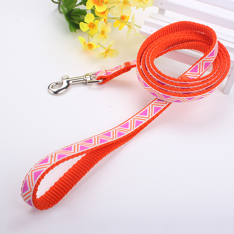 New products nice and cheap leather pet dog leash custom brand logo