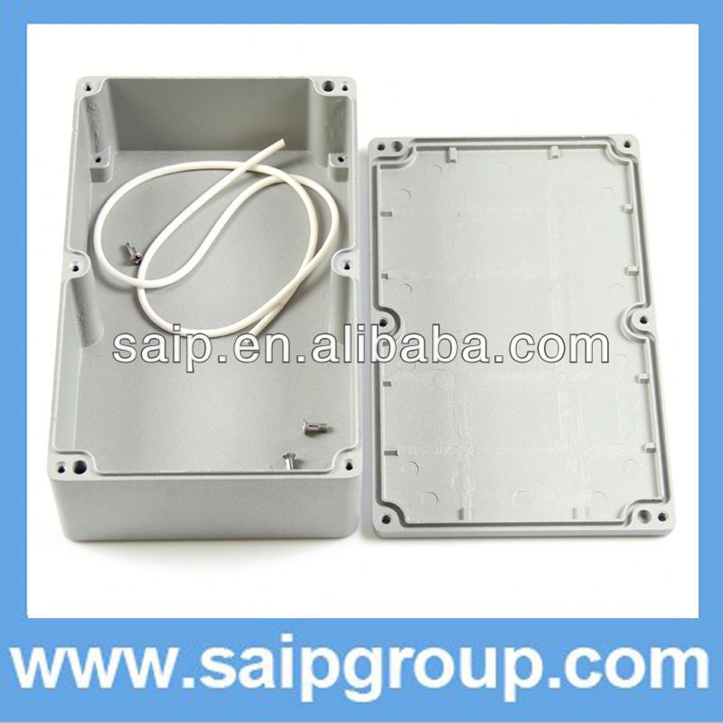 Newest high quality IP67 aluminium transport box,waterproof aliminium enclosure