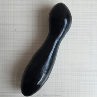 Safe Black Obsidian Crystal Unique Dildo Sex Product for Women