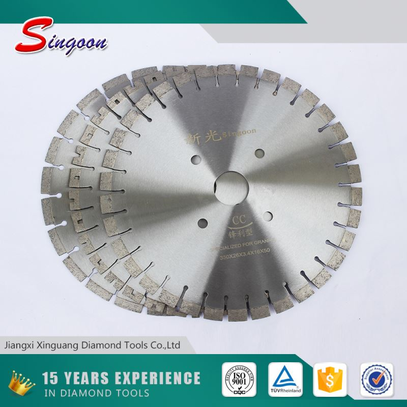 "36"" circular cutting diamond band saw blade for tile and porcelain"