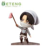 Glossy finishing 1/6 attack on titan zelda cartoon action model figure