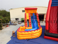 RB6083 4.5x7m Fire Cheap Inflatable Commercial Water Slides For Sale