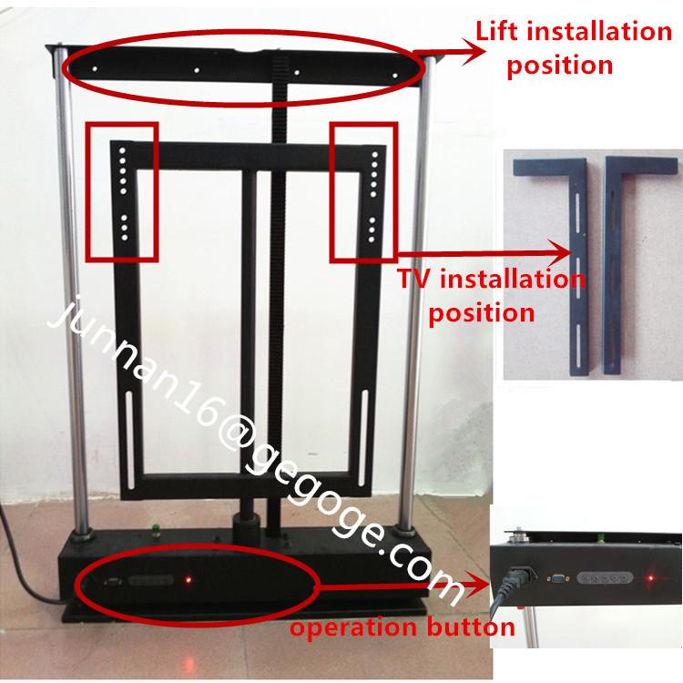 remote control motorized tv lift mechanism buy tv lift. Black Bedroom Furniture Sets. Home Design Ideas