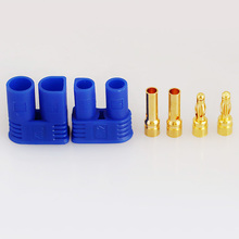 EC2 device rc car battery bullet connectors