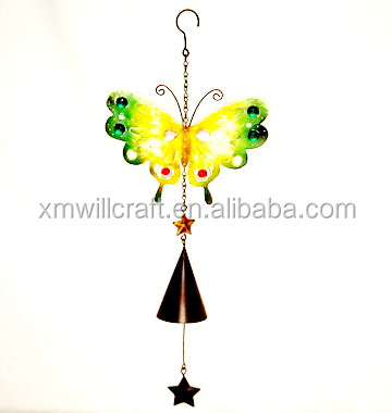 garden metal butterfly Hanging Wind Chimes