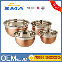Factory Wholesale Stainless Steel Mixing Bowl, Stainless Steel Salad Bowl