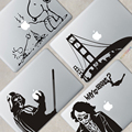 Wholesale Oracal from German Material Unique Laptop Accessories Vinyl Decals Skins for MacBook Sticker
