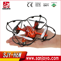 2016 New and Hot MINI JJRC H6W WIFI FPV Real-time aerial photography Small Quadcopter software control Drone