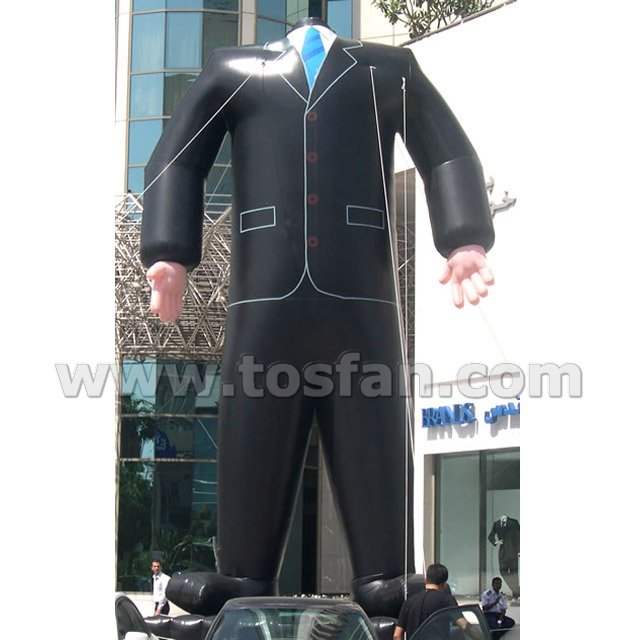 Manufacture direct sale inflatable clothes model F1086