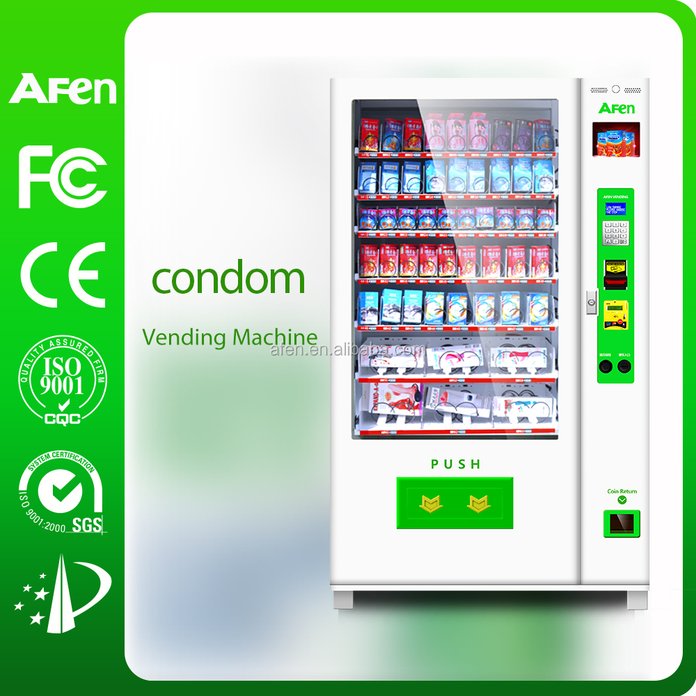 Hot adult /snack/drink/beer Combo Vending Machine For Sale