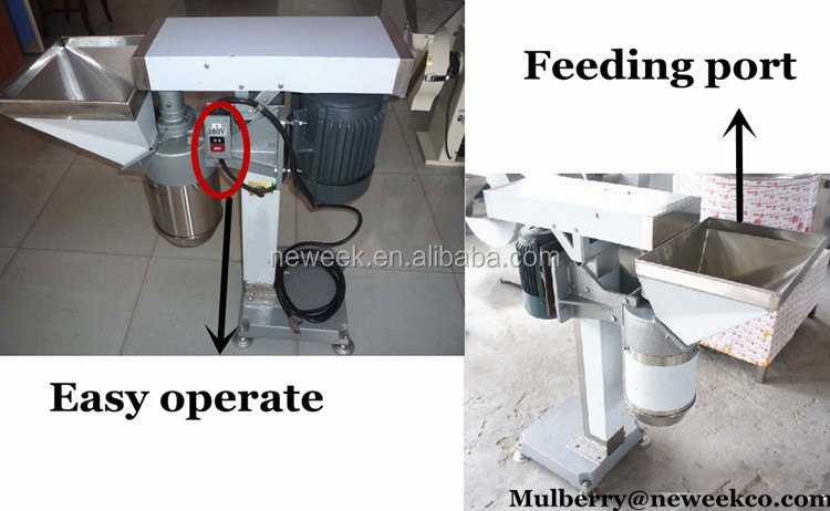 Neweek restaurant 100-200kg/h ginger milling onion garlic chopper machine