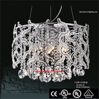 Modern K9 hanging lighting 215ml short mason jar /glass food storage jar