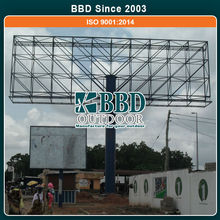 Outdoor large size stable design professional company led billboard price