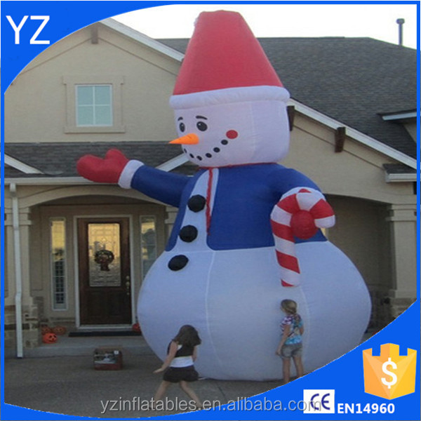 Big promotion outdoor Inflatable Snowman For Christmas