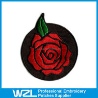 custom iron on appliques embroidered applique embroidered rose applique