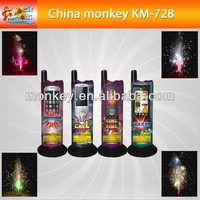 Cellphone toys ground color cold fountain Fireworks(KM728)