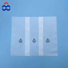 China Supplier customized clear CPE plastic packaging bag for electronic products