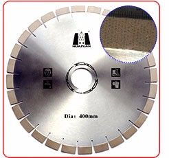 Low noise T shape segment diamond cutting tools granite cutting saw blade