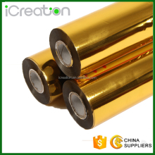 Gold Hot Stamping Foil for Paper/Plastic/Leather/Textile